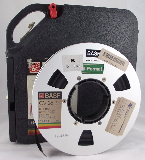 1-inch Type B video tape