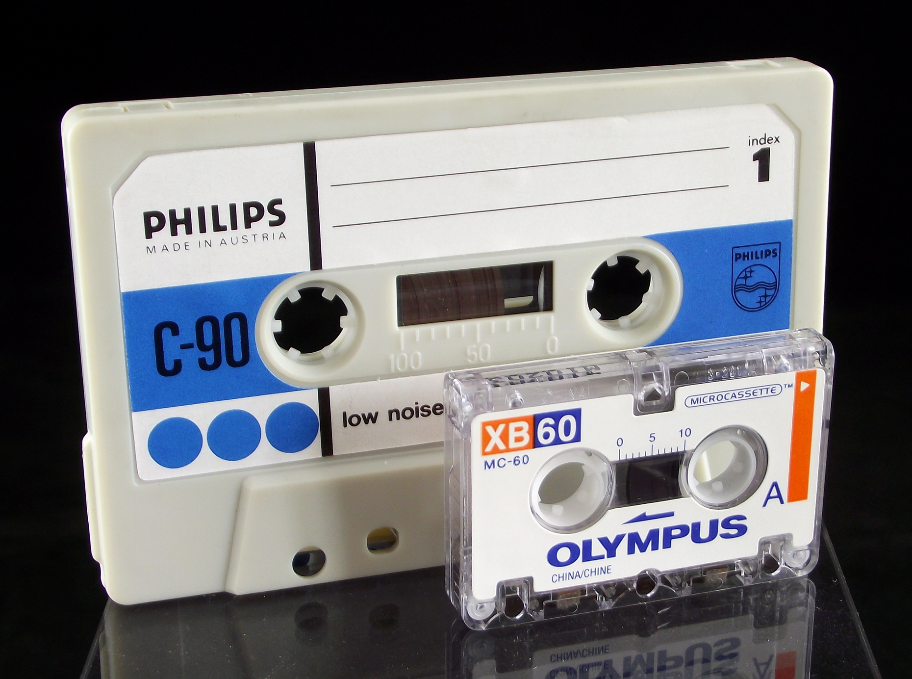 Compact Cassette and Microcassette