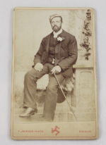 A Carte De Visite Consists Of Small Albumen Print Photograph On Paper Mounted Cards Around 2 1 By 4 Inches The Size Format Was Patented